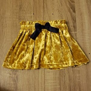 **5 for $15** Beautiful Gold Baby Skirt w/ Bow